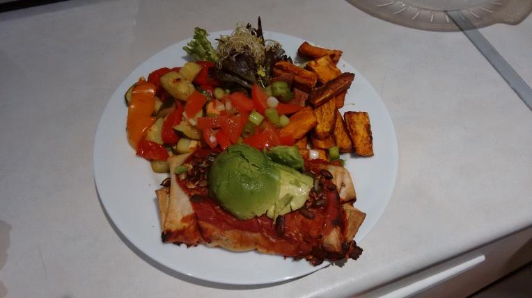 Veganuary dinner 4